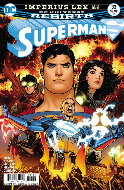 Superman #33 cover