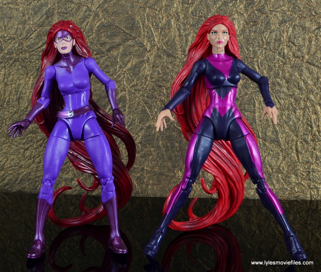 marvel legends the thanos imperative sdcc set review - medusa with walgreens medusa