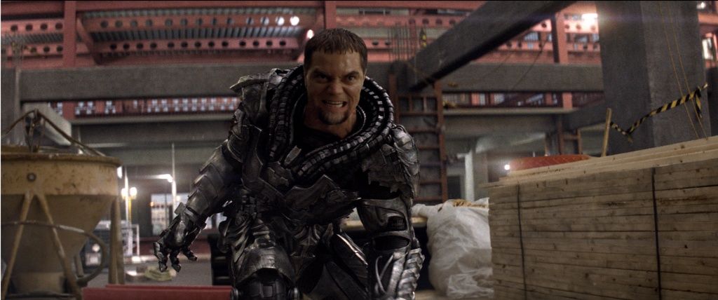 Warner Bros. Pictures General Zod (Michael Shannon) prepares to attack.