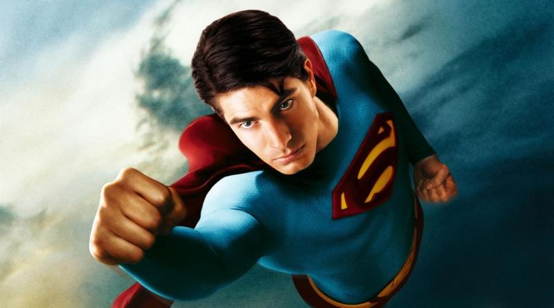 Superman Returns poster Brandon Routh as Superman