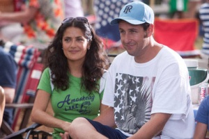 Grown Ups Salma Hayek and Adam Sandler