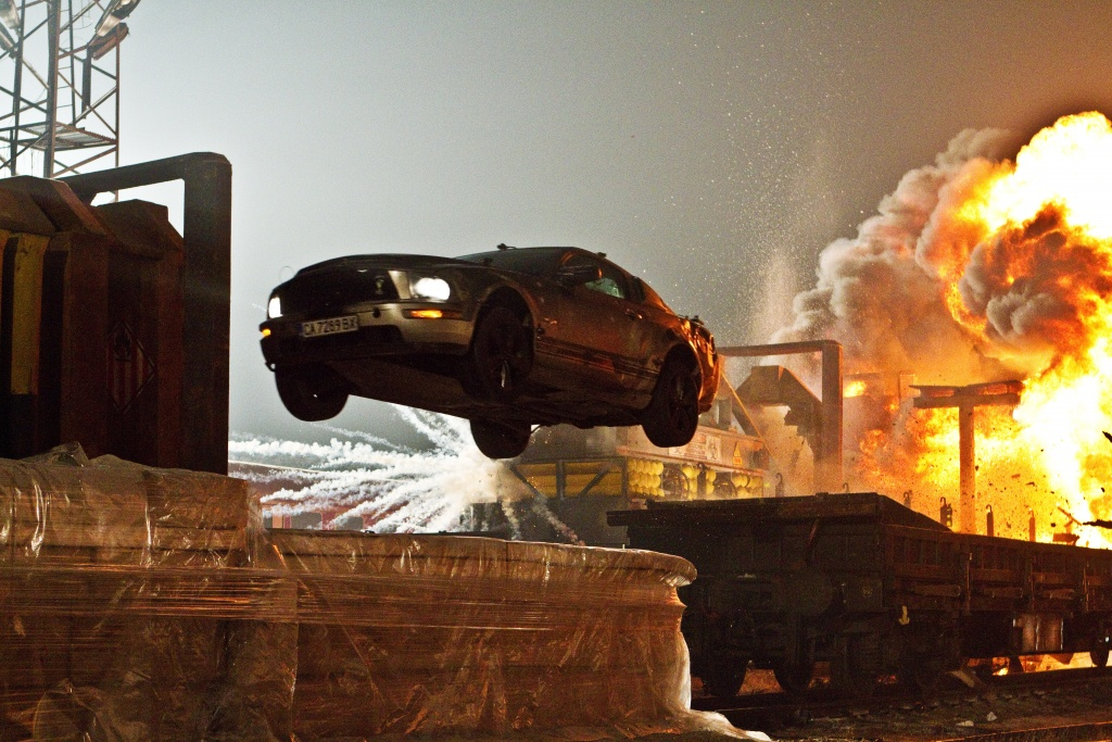 Rico Torres/Warner Bros. Pictures The Mustang escapes again.