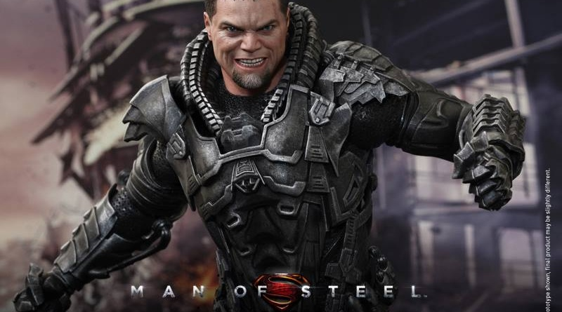 Hot Toys Man of Steel General Zod wide smiling