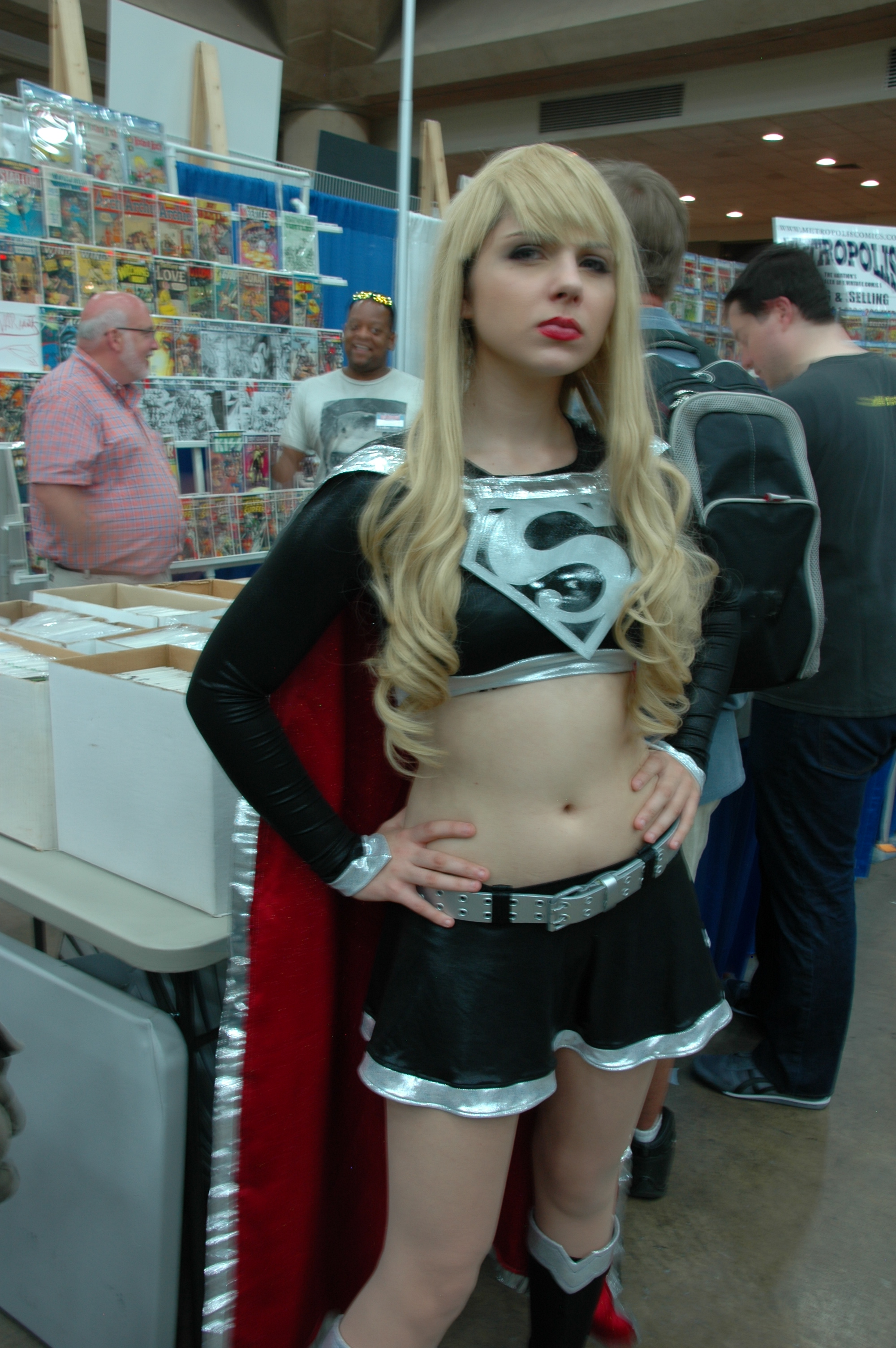 Baltimore Comic Con 2013 Taylor Swift As Supergirl