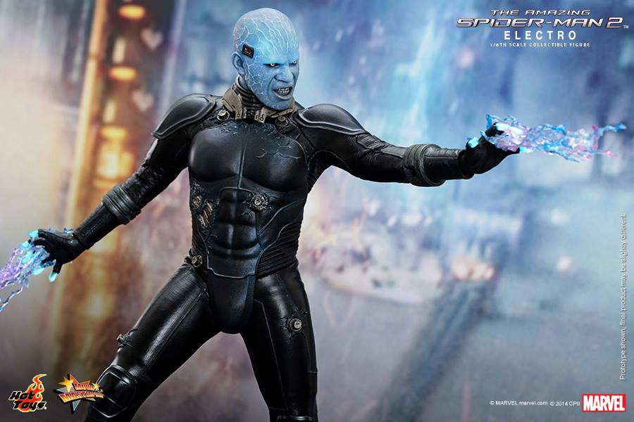 Hot Toys The Amazing Spider-Man 2 - Electro with lighting
