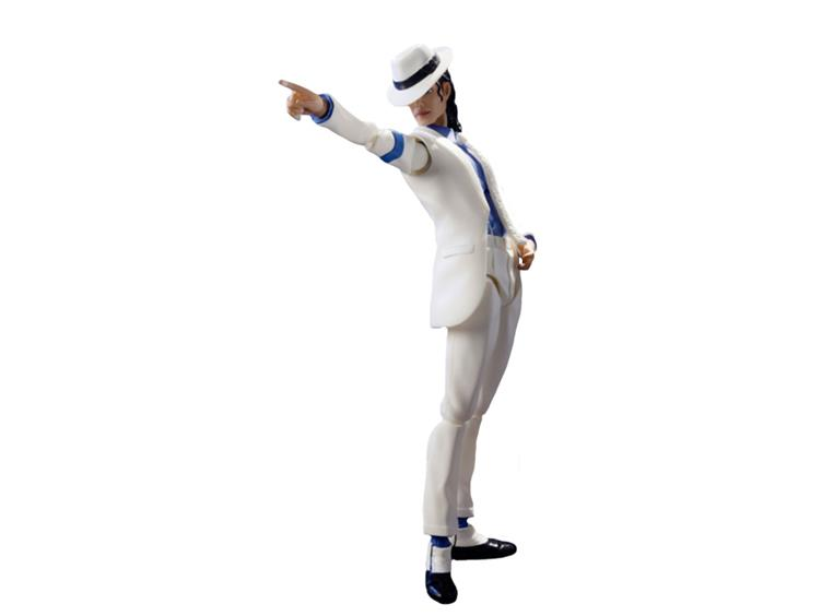 SH Figuarts Michael Jackson - Smooth Criminal figure pointing