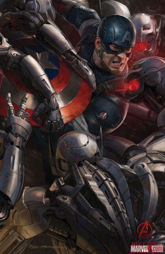 Captain America Age of Ultron concept art
