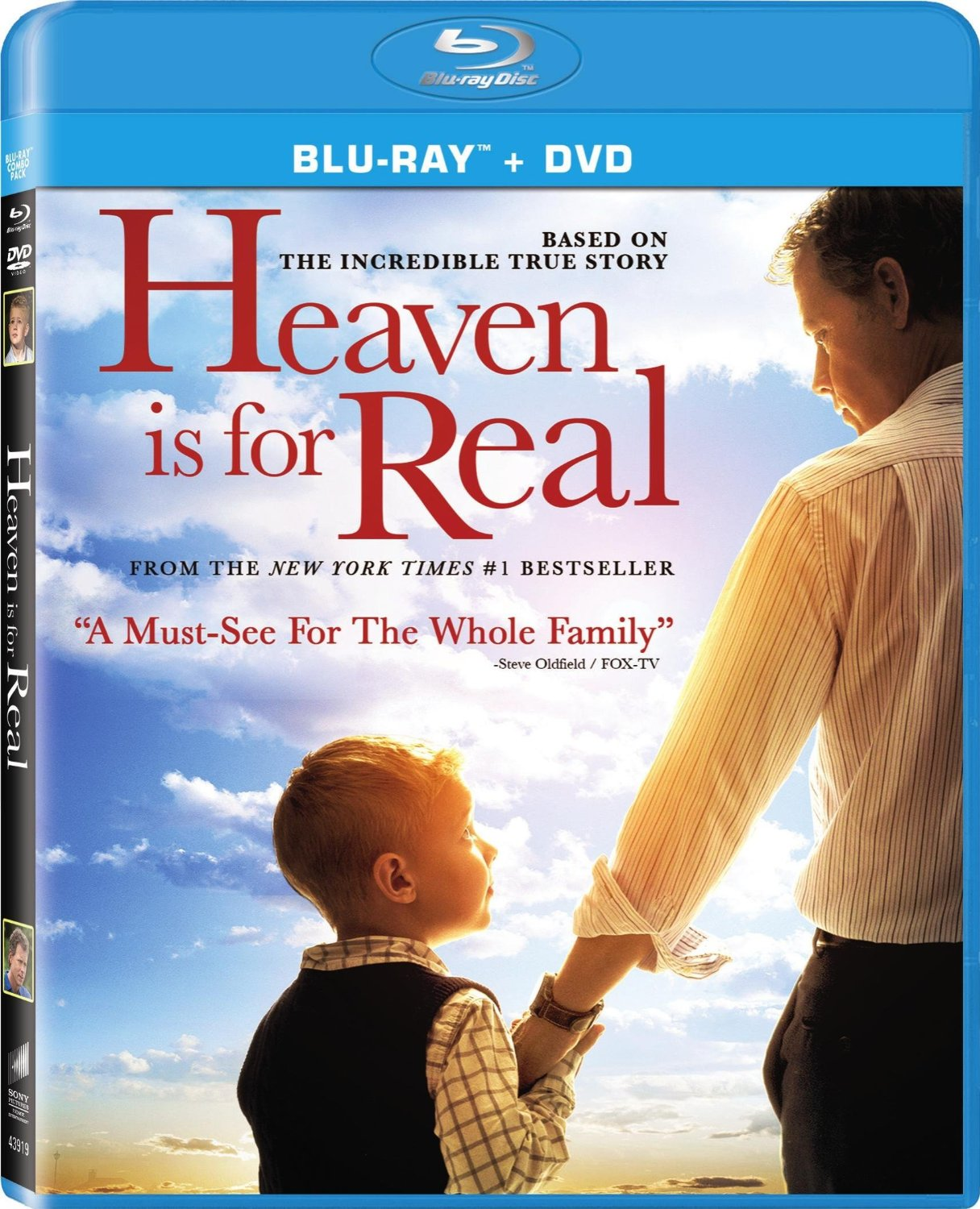 heaven is for real blu ray