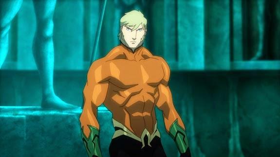 Justice League Throne of Atlantis Movie