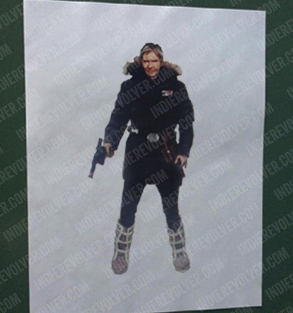 Han Solo episode VII reveal Hoth gear