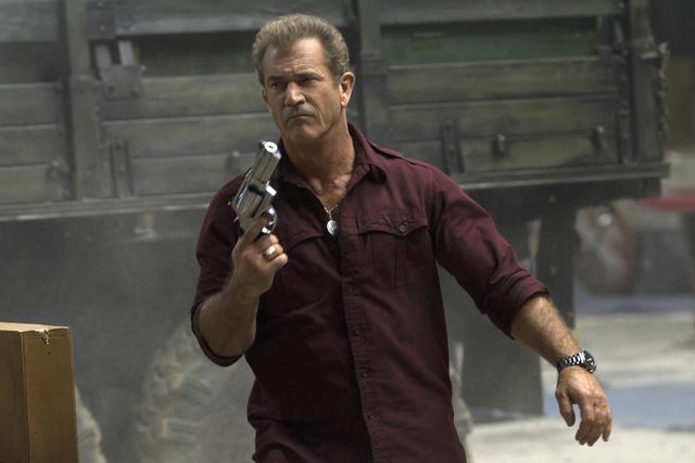 The Expendables 3 Mel Gibson stars as Conrad Stonebanks.