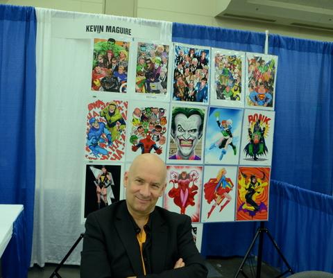 Baltimore Comic Con 2014 - Kevin Maguire