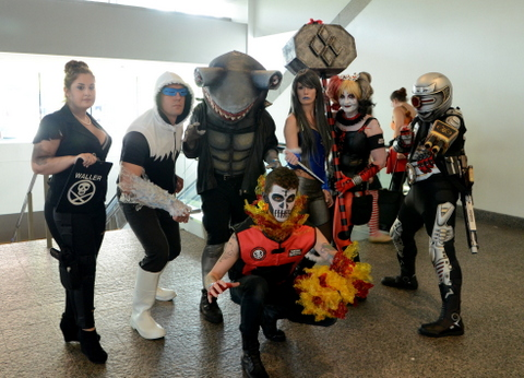 Baltimore Comic Con 2014 - Suicide Squad 2