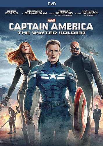 captain america the winter soldier dvd