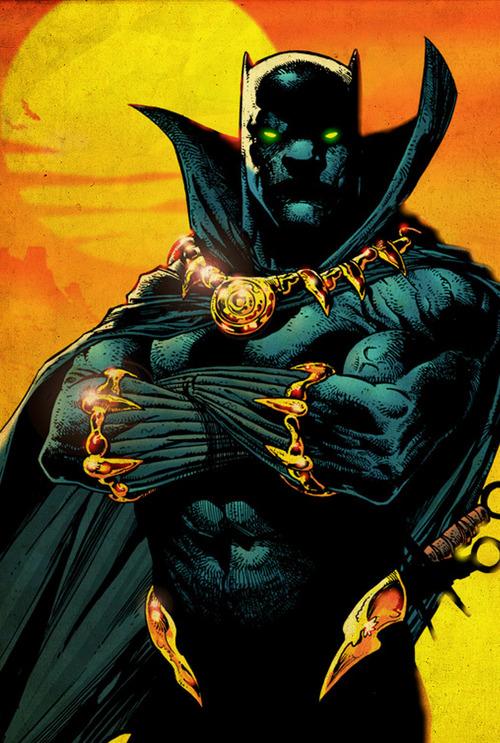 marvel comics black panther