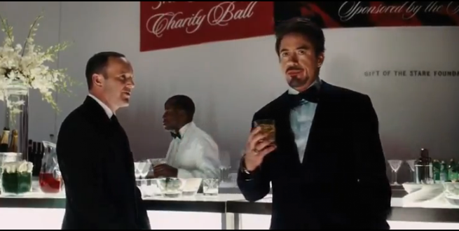Agent Coulson and Tony Stark
