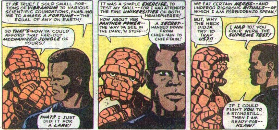 Black Panther and Fantastic Four