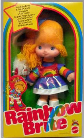 rainbow brite 1980s toy in package