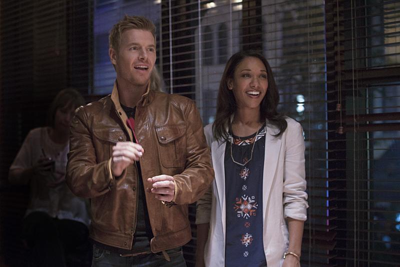 The Flash - Plastique - Eddie and Iris