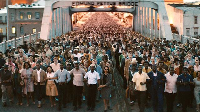 Selma movie - Bridge scene