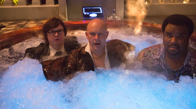 Hot Tub Time Machine 2 - Craig Robinson, Rob Corddry and Clark Duke2