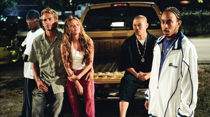 2 Fast 2 Furious - Tyrese, Paul Walker, Devon Aoki and Ludacris