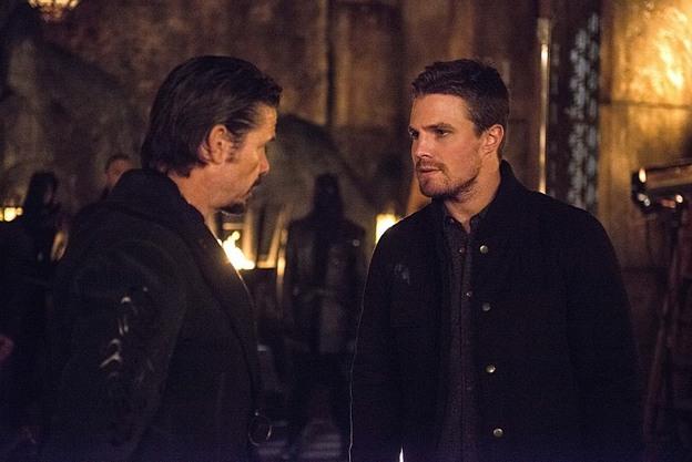 Arrow - The Fallen - Oliver and Ra's al Ghul