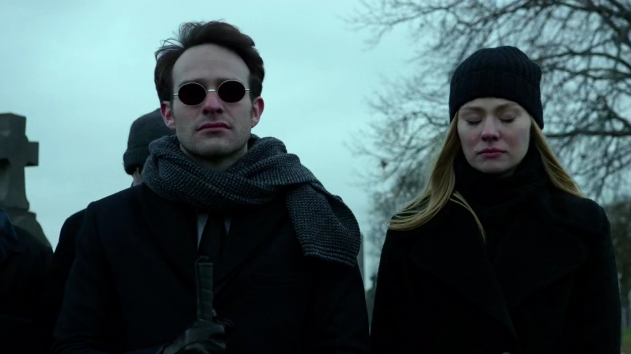 Daredevil - Netflix episode 13 Daredevil - Matt and Karen