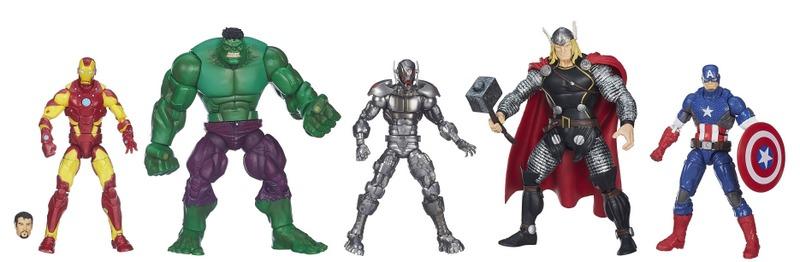 Marvel Legends - Age of Ultron Disney EU exclusive - Ultron, Hulk, Iron Man, Thor Captain America