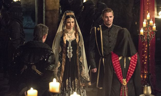 Arrow - This is Your Sword - Nyssa and Oliver get married
