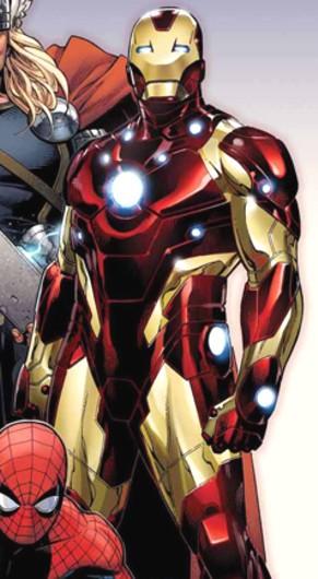 Iron Man - Bleeding Edge armor
