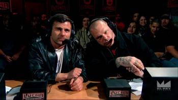 Lucha Underground - Matt Striker and Vampiro