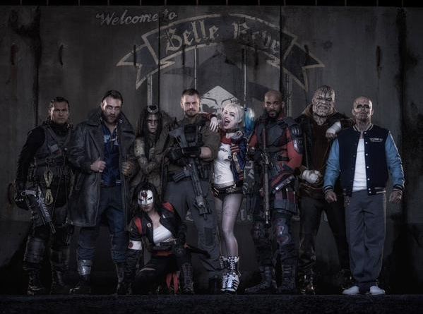 Suicide Squad cast photo