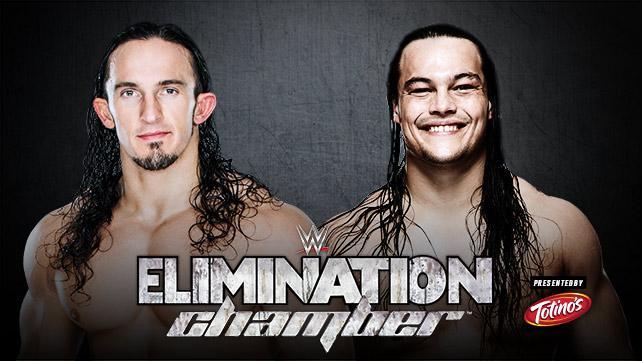 WWE Elimination Chamber 2015 - Neville vs Bo Dallas