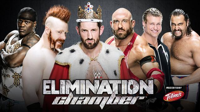 WWE Elimination Chamber 2015 - R-Truth vs Sheamus vs King Barrett vs Ryback vs Ziggler vs Rusev