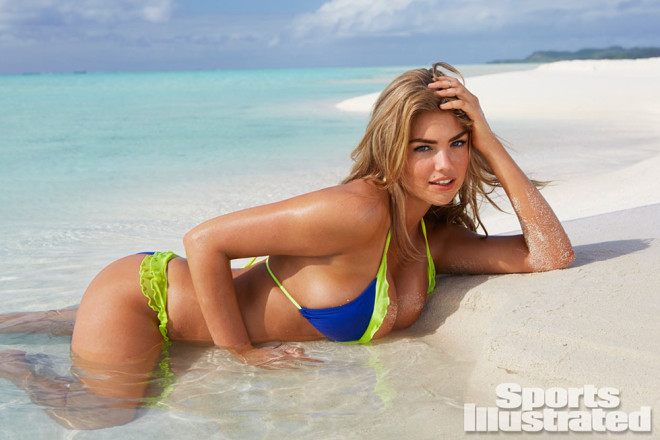Kate Upton beach bikini