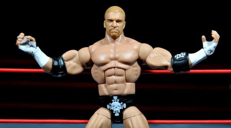 Triple H WWE Mattel Elite 35 - signature pose