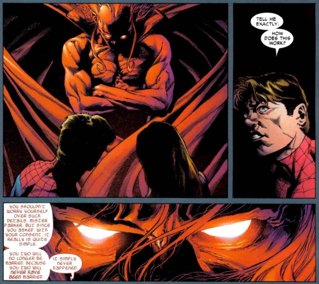 Spider-Man deal with the devil | Lyles Movie Files