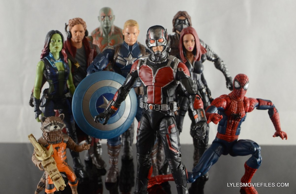 Ant-Man Marvel Legends figure review - Marvel Cinematic Universe