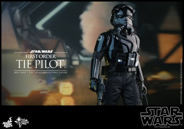 Hot Toys Star Wars Force Awakens Tie Pilot -main image