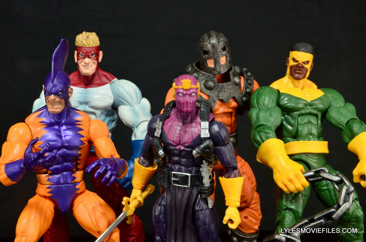 Marvel Legends Bulldozer review - Masters of Evil