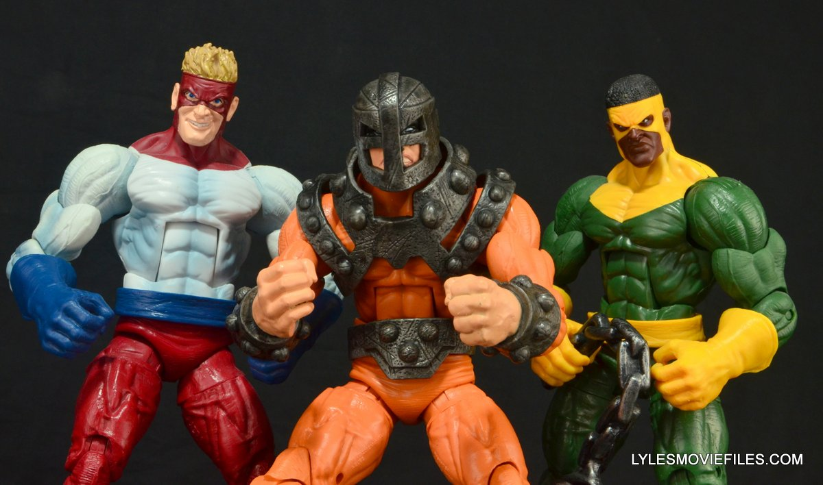 Marvel Legends Bulldozer review - with Piledriver and Thunderball