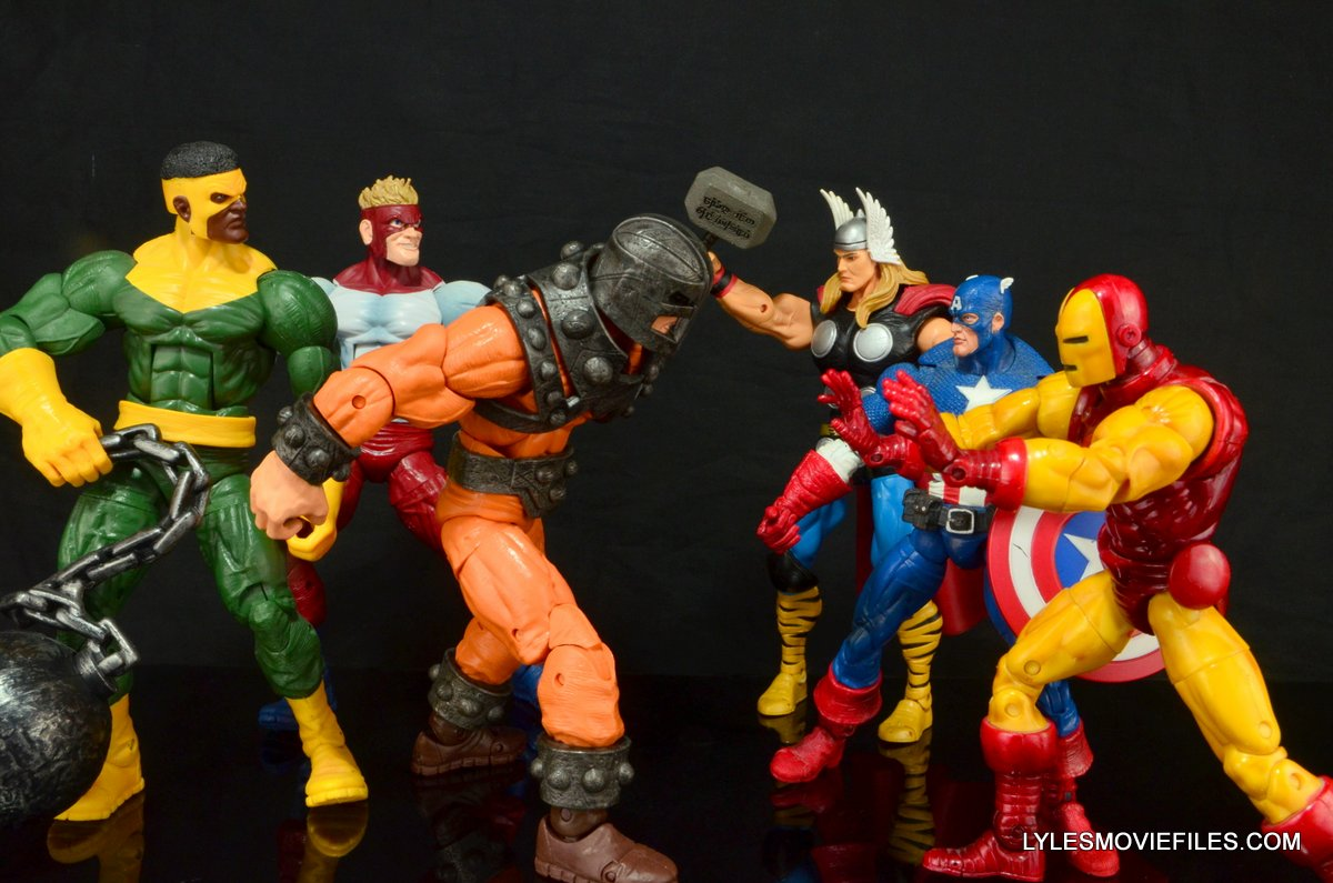 Marvel Legends Bulldozer Figure Review Ant Man Wave