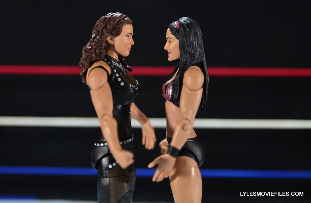 Mattel WWE Elite 37 Stephanie McMahon -face off with Brie Bella