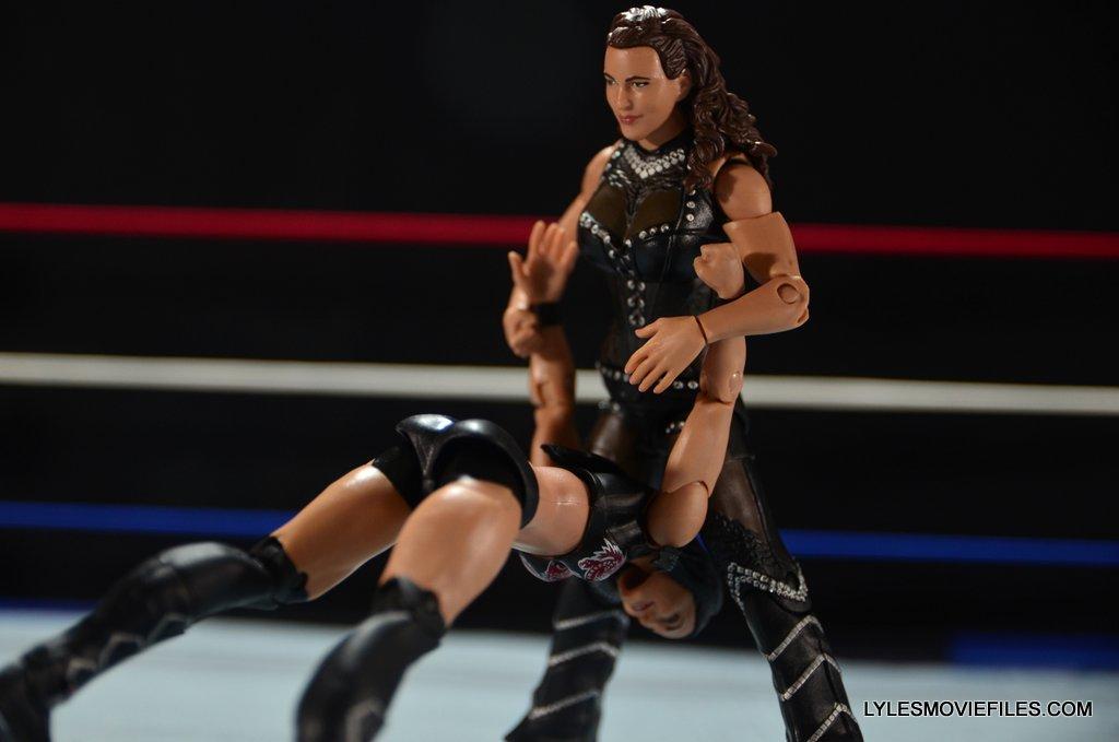 Mattel WWE Elite 37 Stephanie McMahon -Pedigree on Brie Bella