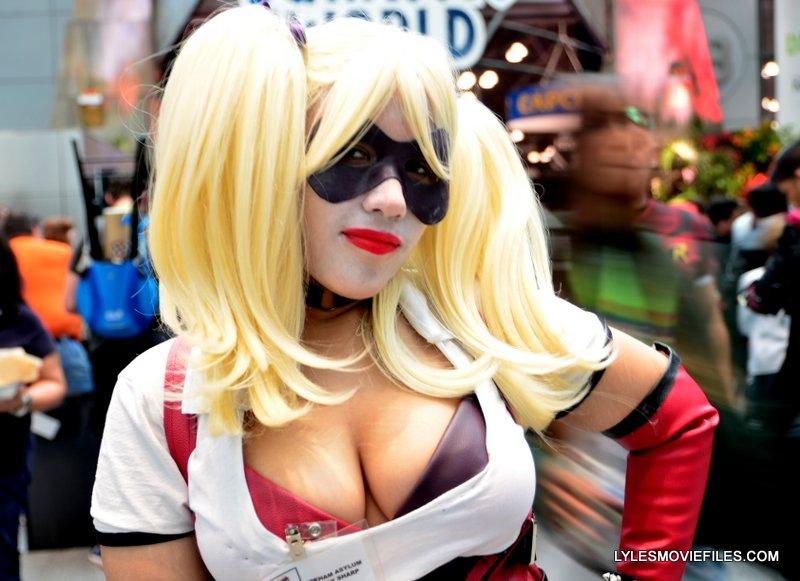 New York Comic Con 2015 cosplay -Arkham Harley