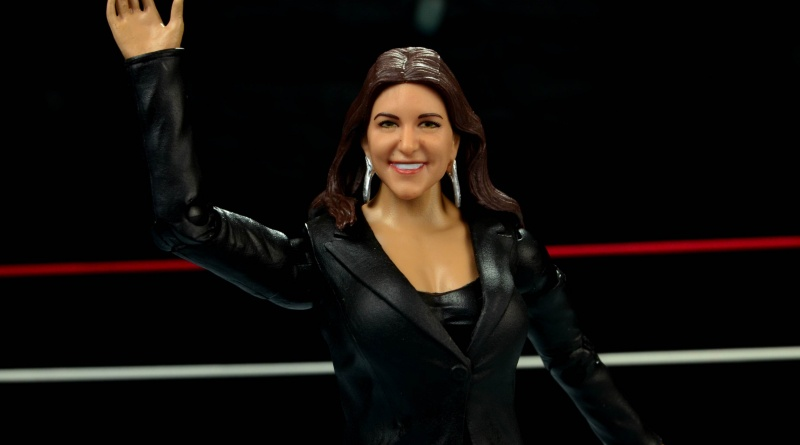 WWE Basic Stephanie McMahon - waving to the crowd