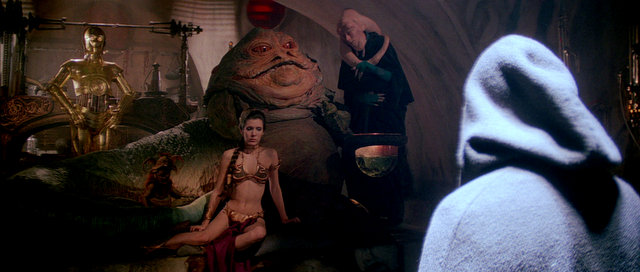 return-of-the-jedi-c3p0-leia-jabba-bib-fortuna-luke-skywalker