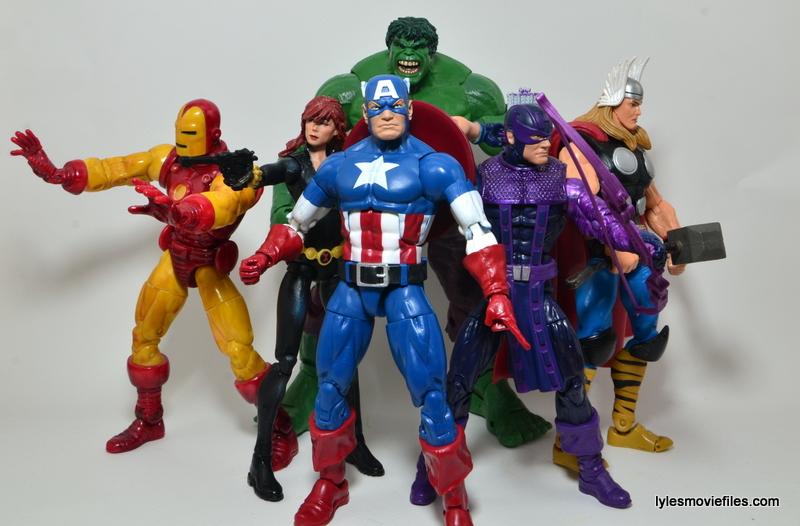 Marvel Legends Captain America review -Marvel Cinematic