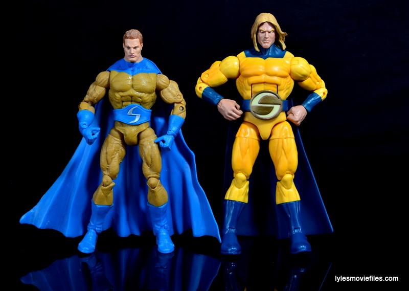 Marvel Legends Sentry figure review - Hasbro vs Toy Biz Sentry